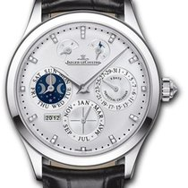 Jaeger-LeCoultre Master Eight Days Perpetual Oro blanco 40mm Plata