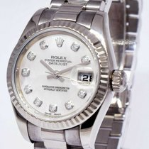 Rolex Automatic Mother of pearl 26mm pre-owned Lady-Datejust