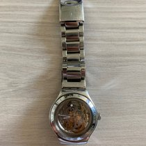 Swatch Steel Automatic Transparent No numerals 38mm pre-owned