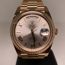 Rolex Day-Date 40 Or rose 40mm Champagne Romain