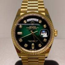 Rolex Day-Date 36 neu 2020 Automatik Uhr mit Original-Box und Original-Papieren 128238