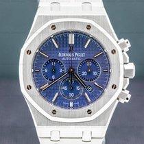 Audemars Piguet Royal Oak Chronograph Acier 41mm Bleu