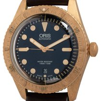 Oris Carl Brashear Bronze 42mm Blue United States of America, Texas, Austin
