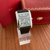 Cartier Tank MC Steel Black Roman numerals