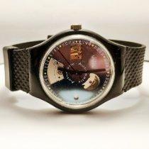 Swatch usato Automatico Blu Plexiglas