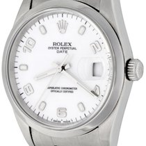 Rolex Oyster Perpetual Date Steel 34mm White Arabic numerals United States of America, Texas, Dallas