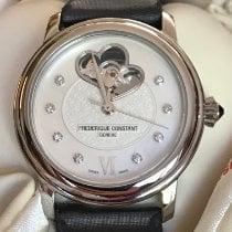 Frederique Constant Ladies Automatic World Heart Federation Acier 34mm Nacre Sans chiffres