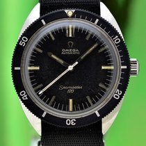 Omega Zilver Automatisch Zwart 37mm tweedehands Seamaster