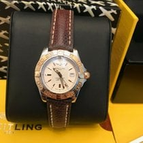 Breitling Galactic 32 Steel 32mm White No numerals