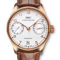 IWC Portuguese Automatic Rose gold 43mm White Arabic numerals