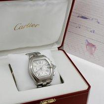 Cartier Roadster Stahl 47mm Grau Römisch