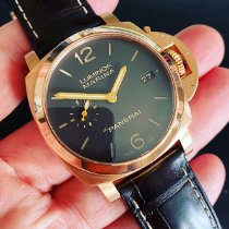 Panerai Luminor Marina 1950 3 Days Automatic Oro rosa 42mm Marrón Arábigos