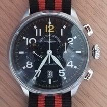 Zeno-Watch Basel Acero Automático Negro Arábigos 44mm usados OS Pilot