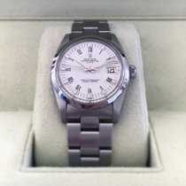 Rolex Oyster Perpetual Date Acier 34mm Blanc Romain France, Brive