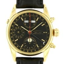 Eberhard & Co. Yellow gold 36mm Automatic 30030 pre-owned