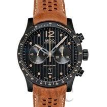Mido Multifort Chronograph Stal 44mm