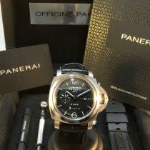Panerai Luminor 1950 8 Days GMT neu 2020 Handaufzug Uhr mit Original-Box und Original-Papieren PAM 00233