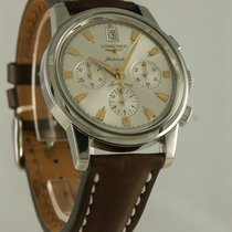 Longines Conquest Heritage Steel 38mm Silver