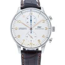 IWC Portuguese Chronograph IW3714-45 2010 pre-owned