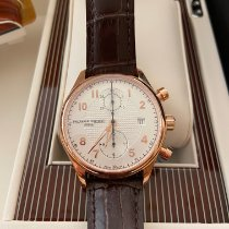 Frederique Constant Runabout Chronograph Steel 42mmmm Silver Arabic numerals