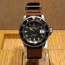 Tudor Submariner Steel 40mm Black No numerals