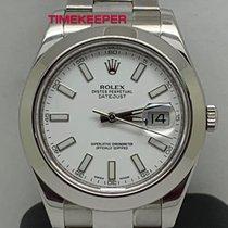 Rolex Datejust II Сталь 41mm Белый