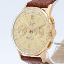 Cabestan Yellow gold 35mm Manual winding pre-owned