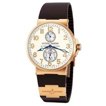 Ulysse Nardin pre-owned Automatic 41mm White Sapphire crystal 20 ATM