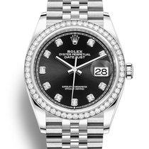 Rolex Datejust Steel 36mm Black United States of America, Florida, Aventura