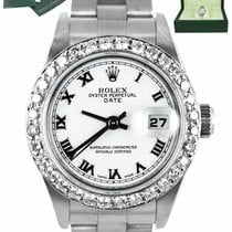 Rolex Oyster Perpetual Lady Date Steel 26mm White Roman numerals United States of America, New York, Smithtown