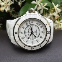Chanel J12 Ceramic 38mm White No numerals United States of America, California, Costa Mesa