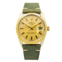 Rolex Oyster Perpetual Date 1550 Good Gold/Steel 34mm Automatic