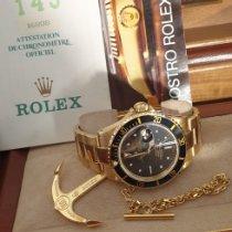 Rolex Oro amarillo Automático usados Submariner Date