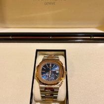 Patek Philippe Nautilus 5980/1AR-001 New Gold/Steel 40.5mm Automatic