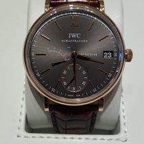 IWC Portofino Hand-Wound Ouro rosa