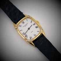 Patek Philippe Vintage Or jaune 20mm Blanc Romain