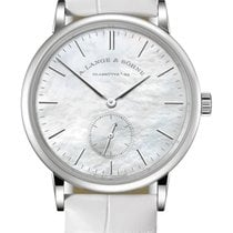 A. Lange & Söhne Saxonia White gold 35mm Mother of pearl United States of America, Florida, Sunny Isles Beach
