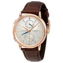 A. Lange & Söhne Saxonia Rose gold 38.4mm Silver United States of America, Florida, Sunny Isles Beach