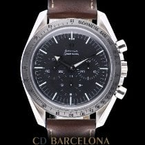 Omega Speedmaster Broad Arrow Acero 42mm Negro España, Barcelona