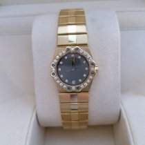 Chopard St. Moritz Yellow gold 25mm White