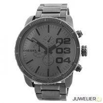 Diesel Steel 52mm Quartz DZ4215 new
