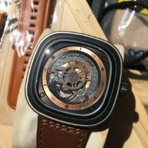 Sevenfriday P2-1 Stal 47.5mm Srebrny Bez cyfr