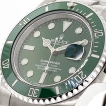 Rolex Submariner Date Steel 40mm Green No numerals United States of America, Georgia, Atlanta
