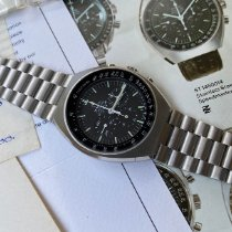 Omega Speedmaster Mark II Stål 42mm Sort Ingen tal