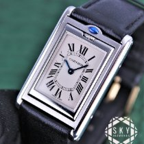 Cartier pre-owned Quartz 24mm Sapphire crystal