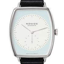 NOMOS White gold Manual winding 36mm new Lux