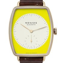 NOMOS Lux Or rose 34mm Jaune