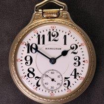 Hamilton 992B Railroad Pocket Watch 1940 new