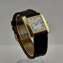 Cartier Yellow gold 28mm Automatic 1840 pre-owned