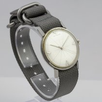Wittnauer pre-owned Manual winding 34mm Silver